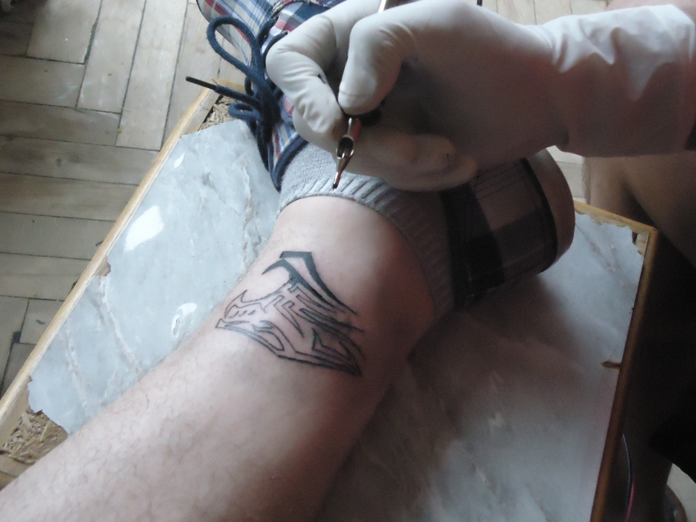 ახალი Tattoo Gun და ახალი კარიერა (4/5)